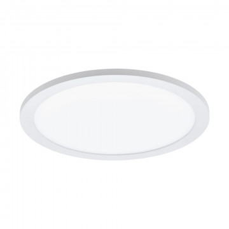 Потолочный светодиодный светильник с пультом ДУ Eglo Connect Sarsina-C 97958, LED 16W 2700-6500K + RGB 2100lm CRI>80, белый, металл, металл с пластиком, пластик