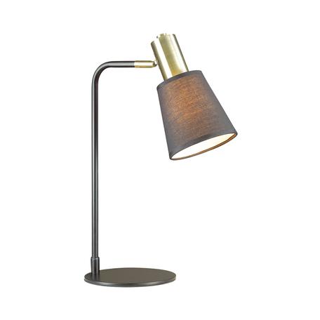 Настольная лампа Lumion Moderni Marcus 3638/1T, 1xE14x60W, черный, металл, текстиль