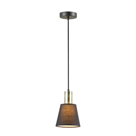 Подвесной светильник Lumion Moderni Marcus 3638/1, 1xE14x40W, черный, металл, текстиль