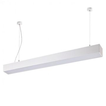 Подвесной светодиодный светильник Novotech Iter 358055 4000K (дневной), белый, металл, пластик