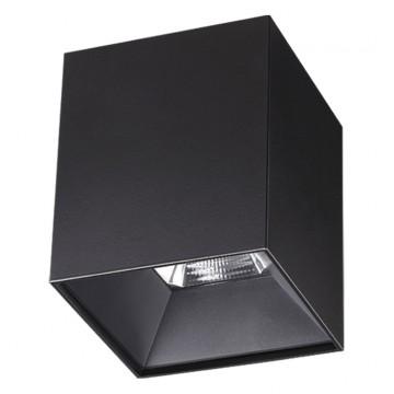 Потолочный светодиодный светильник Novotech Recte 357962 4000K (дневной), черный, металл