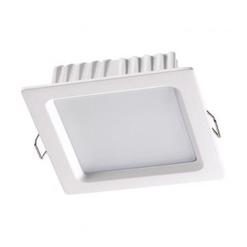 Встраиваемая светодиодная панель Novotech 358032, белый, металл, пластик