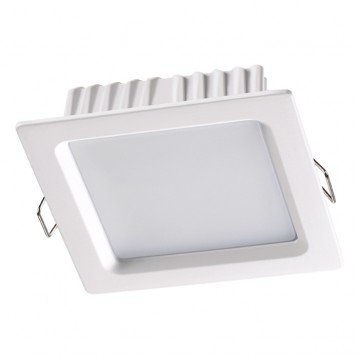 Встраиваемая светодиодная панель Novotech 358033, белый, металл, пластик