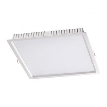 Встраиваемая светодиодная панель Novotech 358034, белый, металл, пластик