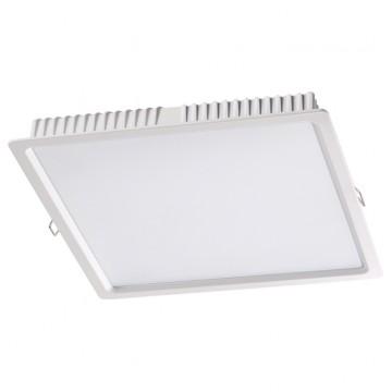 Встраиваемая светодиодная панель Novotech 358035, белый, металл, пластик