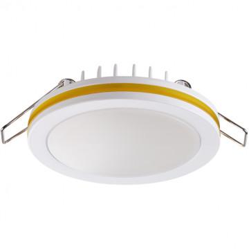 Встраиваемая светодиодная панель Novotech Klar 357965, LED 18W 4000K 980lm, белый, желтый, металл с пластиком, пластик