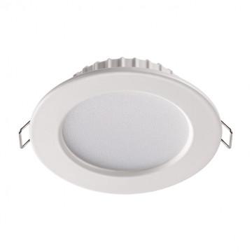 Встраиваемая светодиодная панель Novotech Luna 358028, LED 7W 4100K 390lm, белый, металл с пластиком, пластик