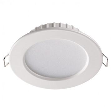 Встраиваемая светодиодная панель Novotech Luna 358029, LED 10W 4100K 560lm, белый, металл с пластиком, пластик