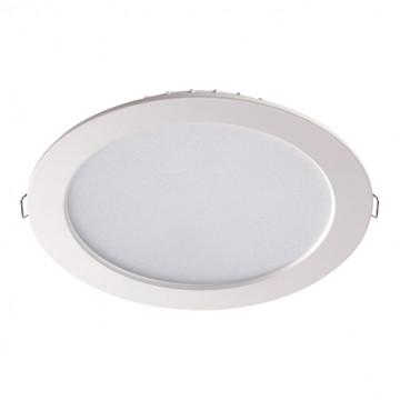 Встраиваемая светодиодная панель Novotech Luna 358030, LED 15W 4100K 996lm, белый, металл с пластиком, пластик