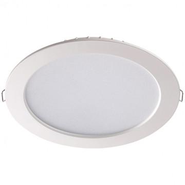 Встраиваемая светодиодная панель Novotech Luna 358031, LED 20W 4100K 1260lm, белый, металл с пластиком, пластик