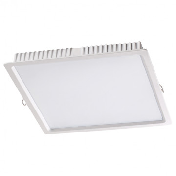 Встраиваемая светодиодная панель Novotech Luna 358035, LED 25W 4100K 2100lm, белый, металл с пластиком, пластик