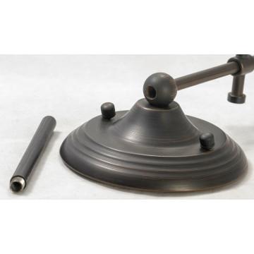 Бра Lussole Loft Milazzo LSL-2901-01, IP21, 1xE14x40W, черный, белый, металл, текстиль - миниатюра 2