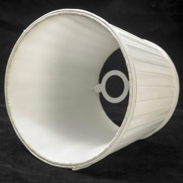 Бра Lussole Loft Milazzo LSL-2901-01, IP21, 1xE14x40W, черный, белый, металл, текстиль - миниатюра 9