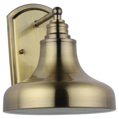 Бра Lussole Loft Sona LSL-3001-01, IP21, 1xE27x60W, бронза, металл
