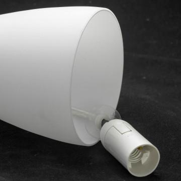 Люстра-каскад Lussole Loft Varmo LSN-0106-06, IP21, 6xE14x40W, никель, белый, металл, стекло - миниатюра 3