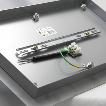 Люстра-каскад Lussole Loft Varmo LSN-0106-06, IP21, 6xE14x40W, никель, белый, металл, стекло - миниатюра 8