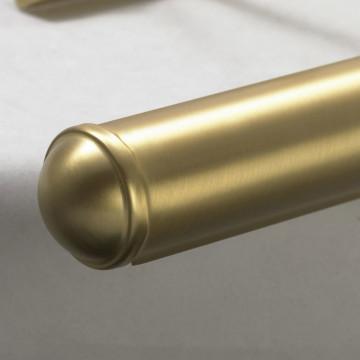Настенный светильник для подсветки картин Lussole Cantiano LSL-6301-04, IP21, 4xE14x25W, матовое золото, металл - миниатюра 4