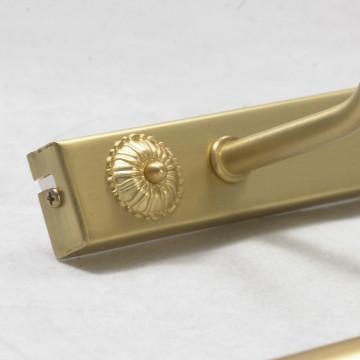 Настенный светильник для подсветки картин Lussole Cantiano LSL-6301-04, IP21, 4xE14x25W, матовое золото, металл - миниатюра 6