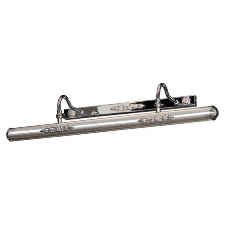 Настенный светильник для подсветки картин Lussole Cantiano LSL-6331-04, IP21, 4xE14x25W, никель, металл