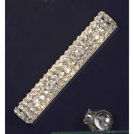 Настенный светильник Lussole Loft Stintino LSL-8701-03, IP21, 3xG9x40W, хром, прозрачный, металл, стекло