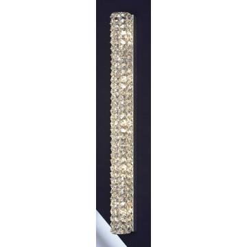 Настенный светильник Lussole Loft Stintino LSL-8701-05, IP21, 5xG9x40W, хром, прозрачный, металл, стекло