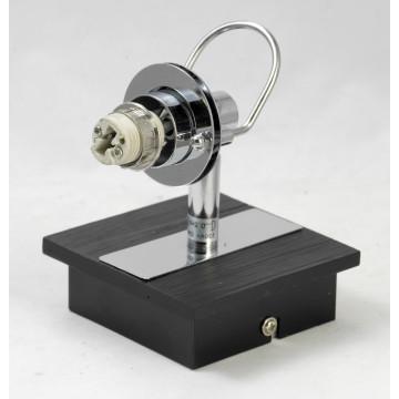 Настенный светильник с регулировкой направления света Lussole Abruzzi LSL-7901-01, IP21, 1xG9x40W, черный, белый, металл с пластиком, стекло - миниатюра 5