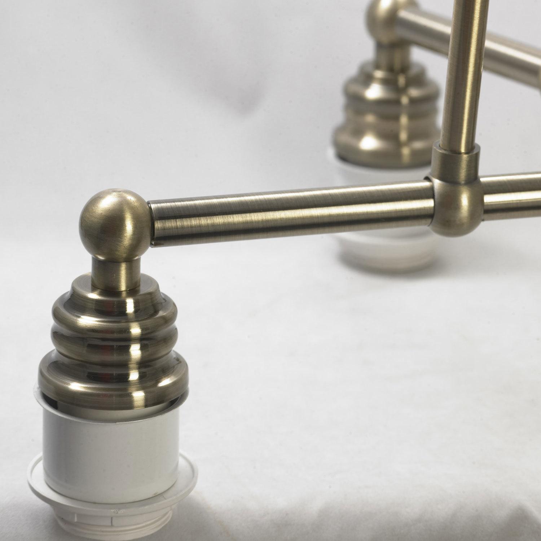 Подвесная люстра Lussole Loft Sona LSL-3003-05, IP21, 5xE27x60W, бронза, металл - фото 5