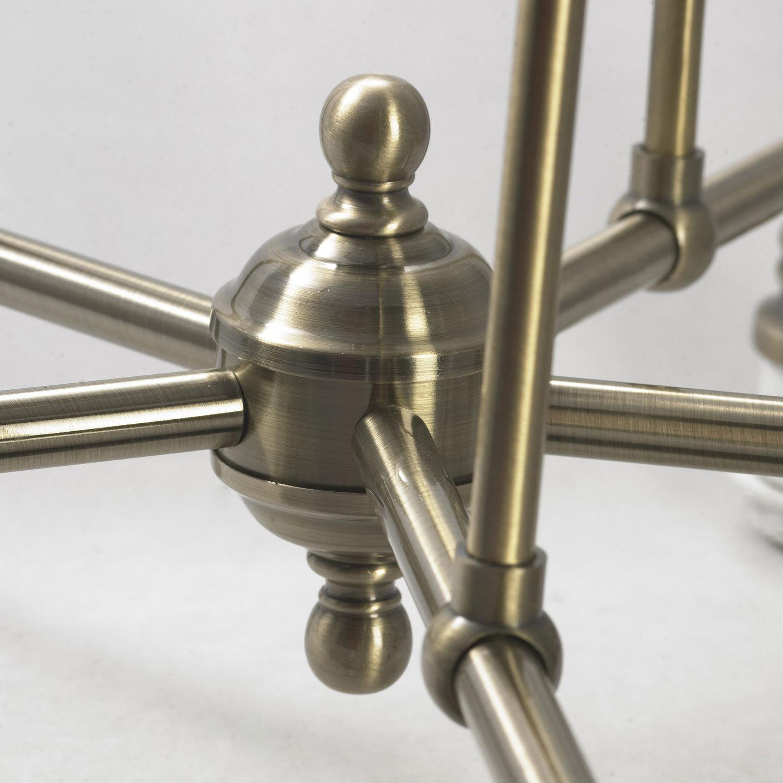 Подвесная люстра Lussole Loft Sona LSL-3003-05, IP21, 5xE27x60W, бронза, металл - фото 6
