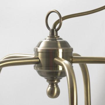 Подвесная люстра Lussole Loft Sona LSL-3003-05, IP21, 5xE27x60W, бронза, металл - миниатюра 7