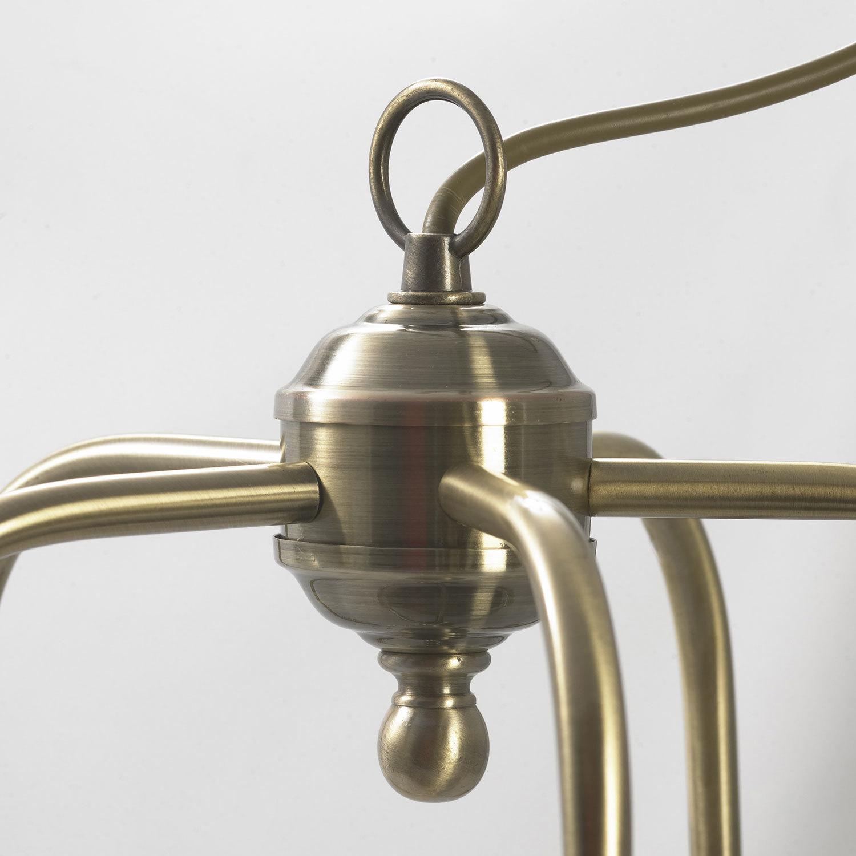 Подвесная люстра Lussole Loft Sona LSL-3003-05, IP21, 5xE27x60W, бронза, металл - фото 7
