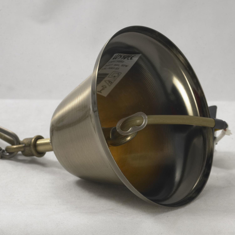 Подвесная люстра Lussole Loft Sona LSL-3003-05, IP21, 5xE27x60W, бронза, металл - фото 9