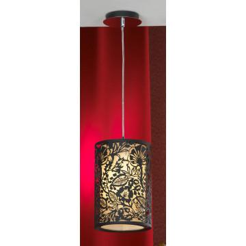 Подвесной светильник Lussole Loft Vetere LSF-2386-01, IP21, 1xE27x60W, черный, металл, металл с пластиком