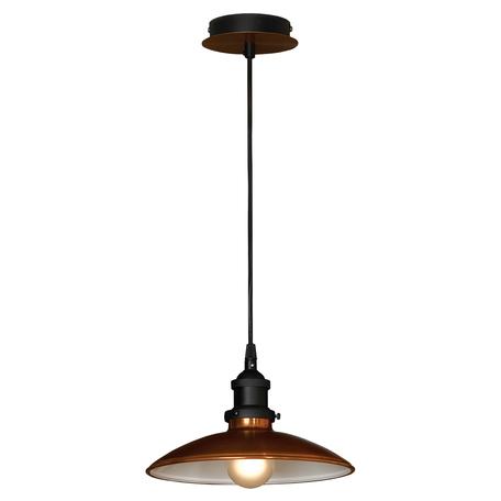 Подвесной светильник Lussole Forli LSL-6806-01, IP21, 1xE27x60W, медь, металл