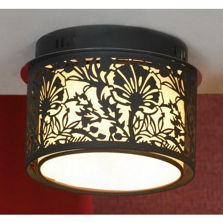 Потолочный светильник Lussole Loft Vetere LSF-2377-04, IP21, 4xE14x40W, черный, металл, металл с пластиком