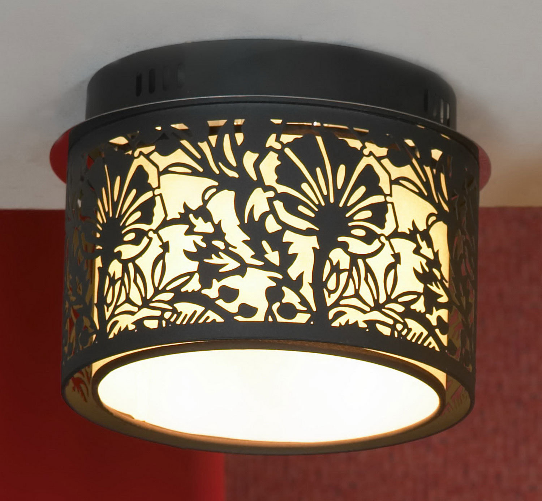 Потолочный светильник Lussole Loft Vetere LSF-2377-04, IP21, 4xE14x40W, черный, металл, металл с пластиком - фото 1