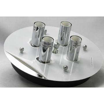 Потолочный светильник Lussole Loft Vetere LSF-2377-04, IP21, 4xE14x40W, черный, металл, металл с пластиком - миниатюра 5