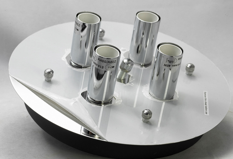Потолочный светильник Lussole Loft Vetere LSF-2377-04, IP21, 4xE14x40W, черный, металл, металл с пластиком - фото 5