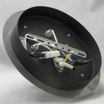 Потолочный светильник Lussole Loft Vetere LSF-2377-04, IP21, 4xE14x40W, черный, металл, металл с пластиком - миниатюра 6