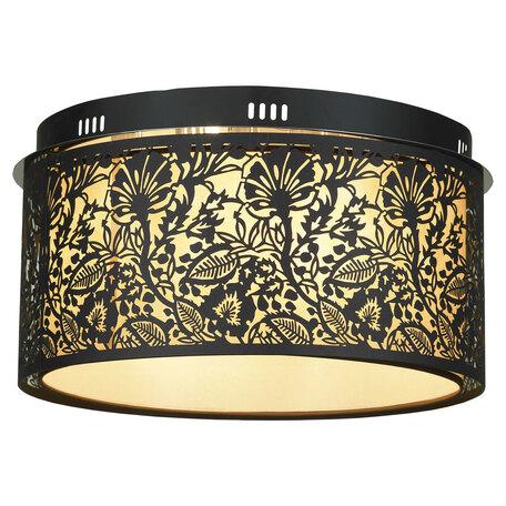 Потолочный светильник Lussole Loft Vetere LSF-2377-07, IP21, 7xE14x40W, черный, металл, металл с пластиком
