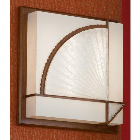 Потолочный светильник Lussole Barbara LSF-9012-03, IP21, 3x2G11x36W, коричневый, белый, дерево, пластик