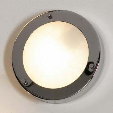 Потолочный светильник Lussole Aqua LSL-5512-01, IP44, 1xG9x40W, хром, белый, металл, стекло