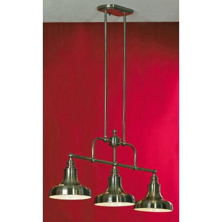 Потолочный светильник на составной штанге Lussole Loft Sona LSL-3013-03, IP21, 3xE27x60W, бронза, металл