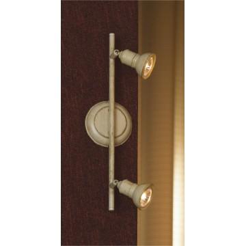 Потолочный светильник с регулировкой направления света Lussole Sobretta LSL-2501-02, 2xGU10x50W