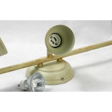 Потолочный светильник с регулировкой направления света Lussole Sobretta LSL-2501-03, IP21, 3xGU10x50W - миниатюра 3