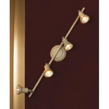 Потолочный светильник с регулировкой направления света Lussole Sobretta LSL-2509-04, IP21, 4xGU10x50W