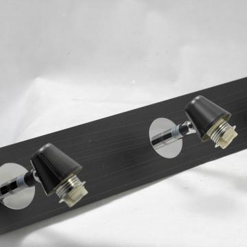 Потолочный светильник с регулировкой направления света Lussole Silandro LSL-8609-04, IP21, 4xG9x40W, хром, прозрачный, металл, стекло - миниатюра 3