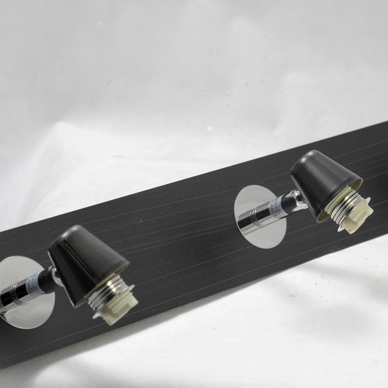 Потолочный светильник с регулировкой направления света Lussole Silandro LSL-8609-04, IP21, 4xG9x40W, хром, прозрачный, металл, стекло - фото 3