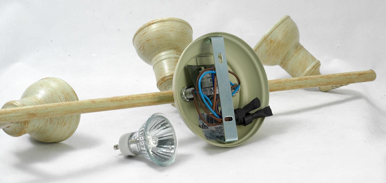 Потолочный светильник с регулировкой направления света Lussole Loft Sobretta LSL-2501-03, IP21, 3xGU10x50W, бежевый, металл - фото 6