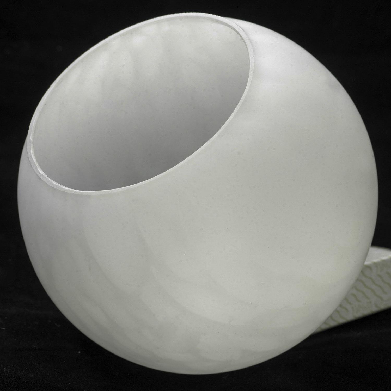 Торшер Lussole Loft Bagheria LSF-6295-02, IP21, 2xE14x40W, коричневый, белый, металл, стекло - фото 8