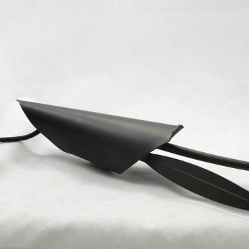 Торшер Lussole Loft Bagheria LSF-6295-02, IP21, 2xE14x40W, коричневый, белый, металл, стекло - миниатюра 4